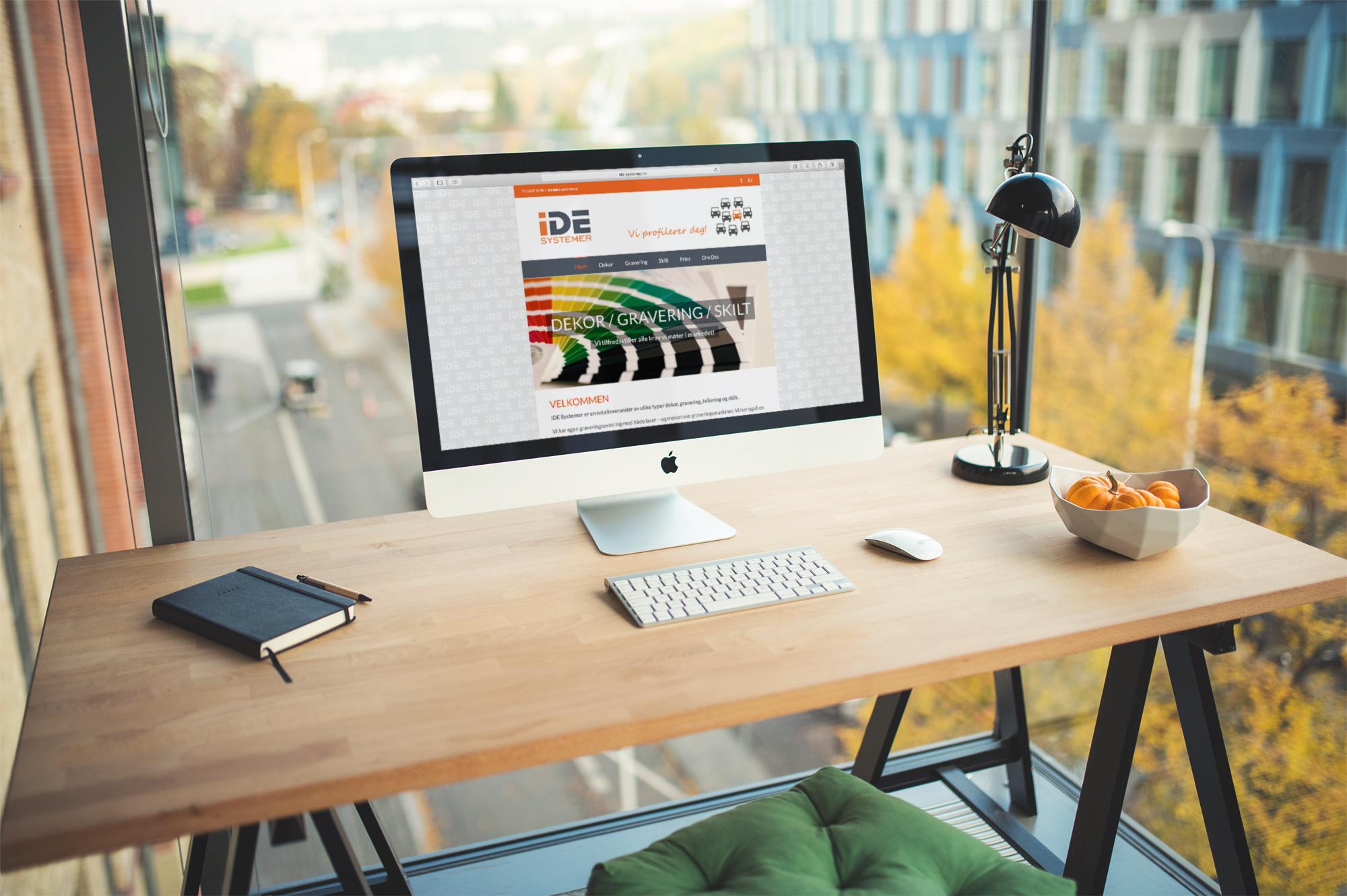 Nettside IDE Systemer