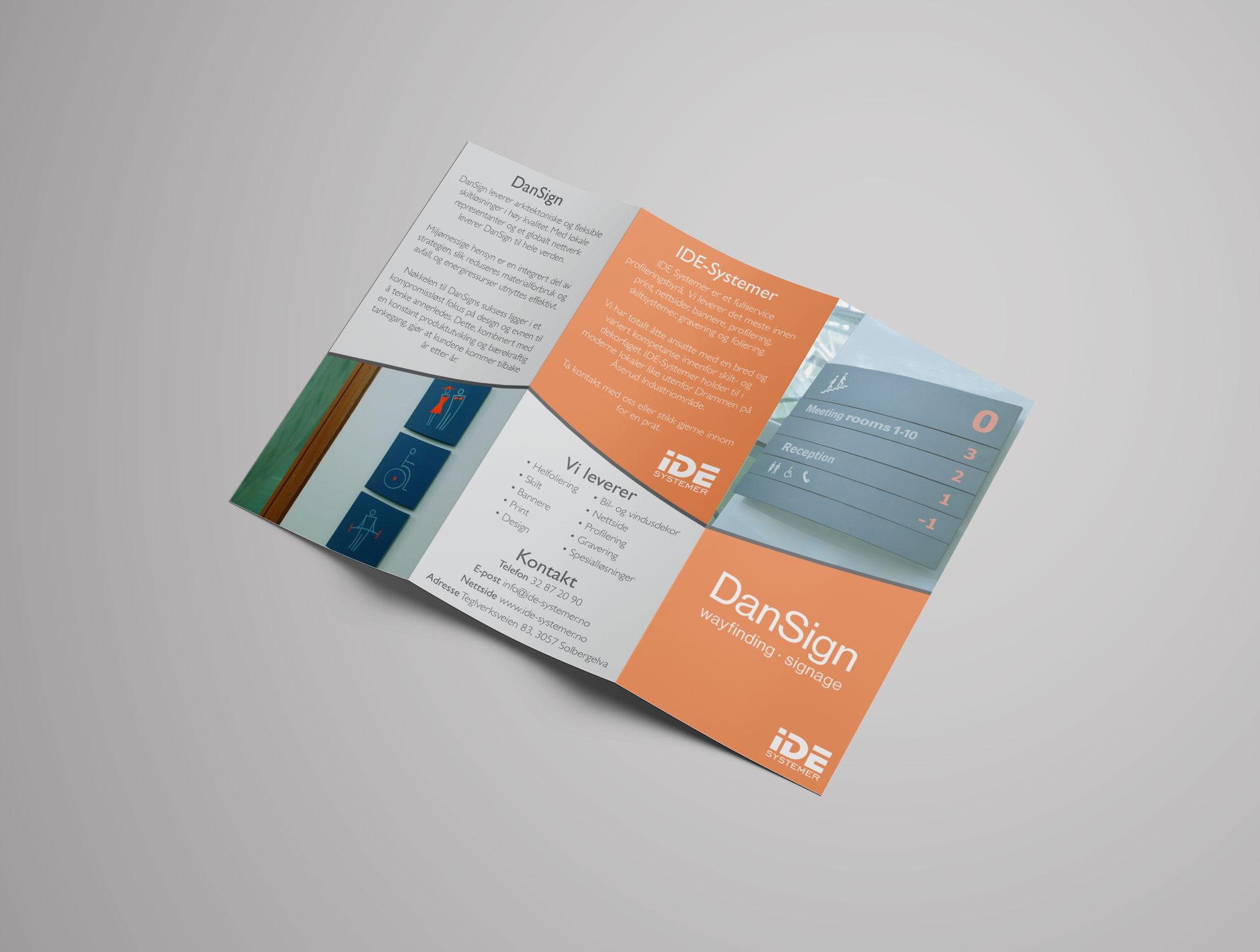 Brosjyre IDE Systemer Brosjyre