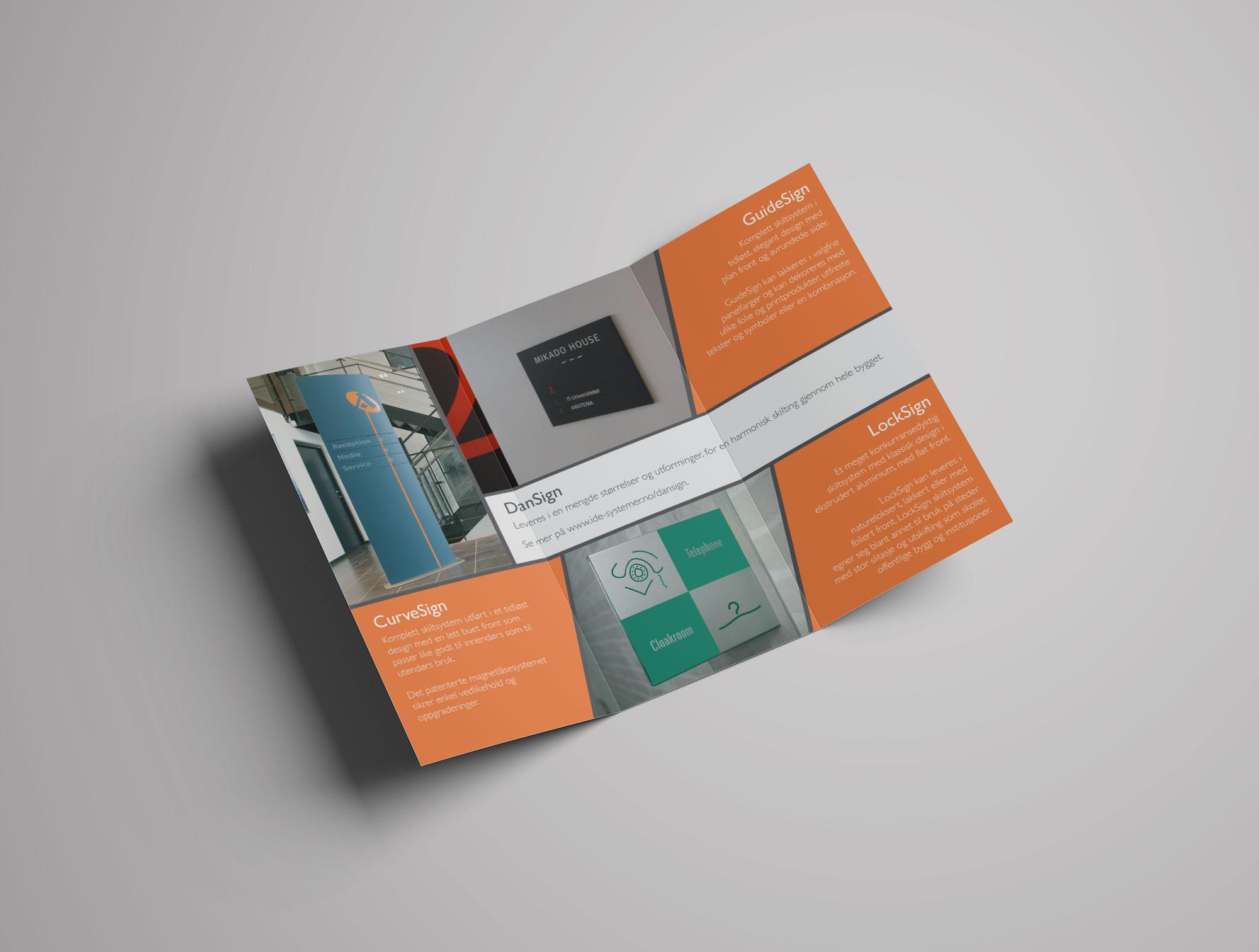 Brosjyre IDE Systemer Dansign