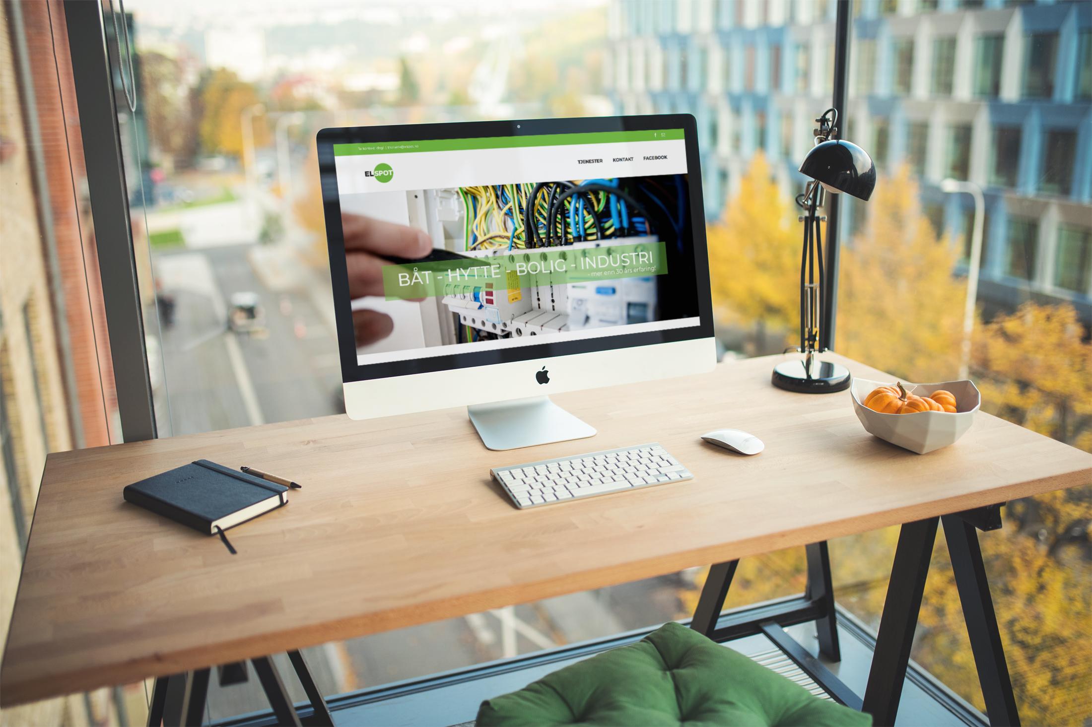 Nettside Elspot Tablet Mobil