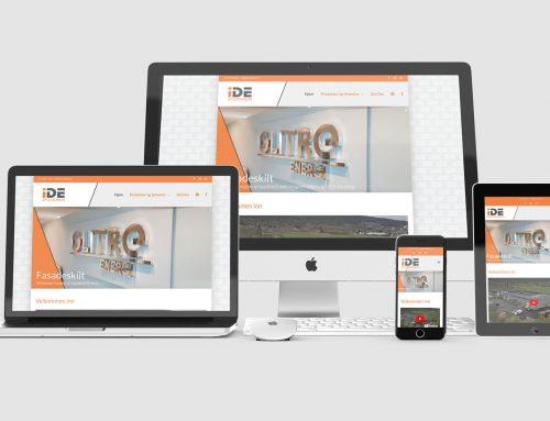 IDE Systemer – Responsiv nettside