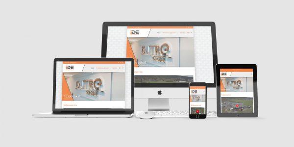 Design og utvikling av ny nettside for IDE Systemer