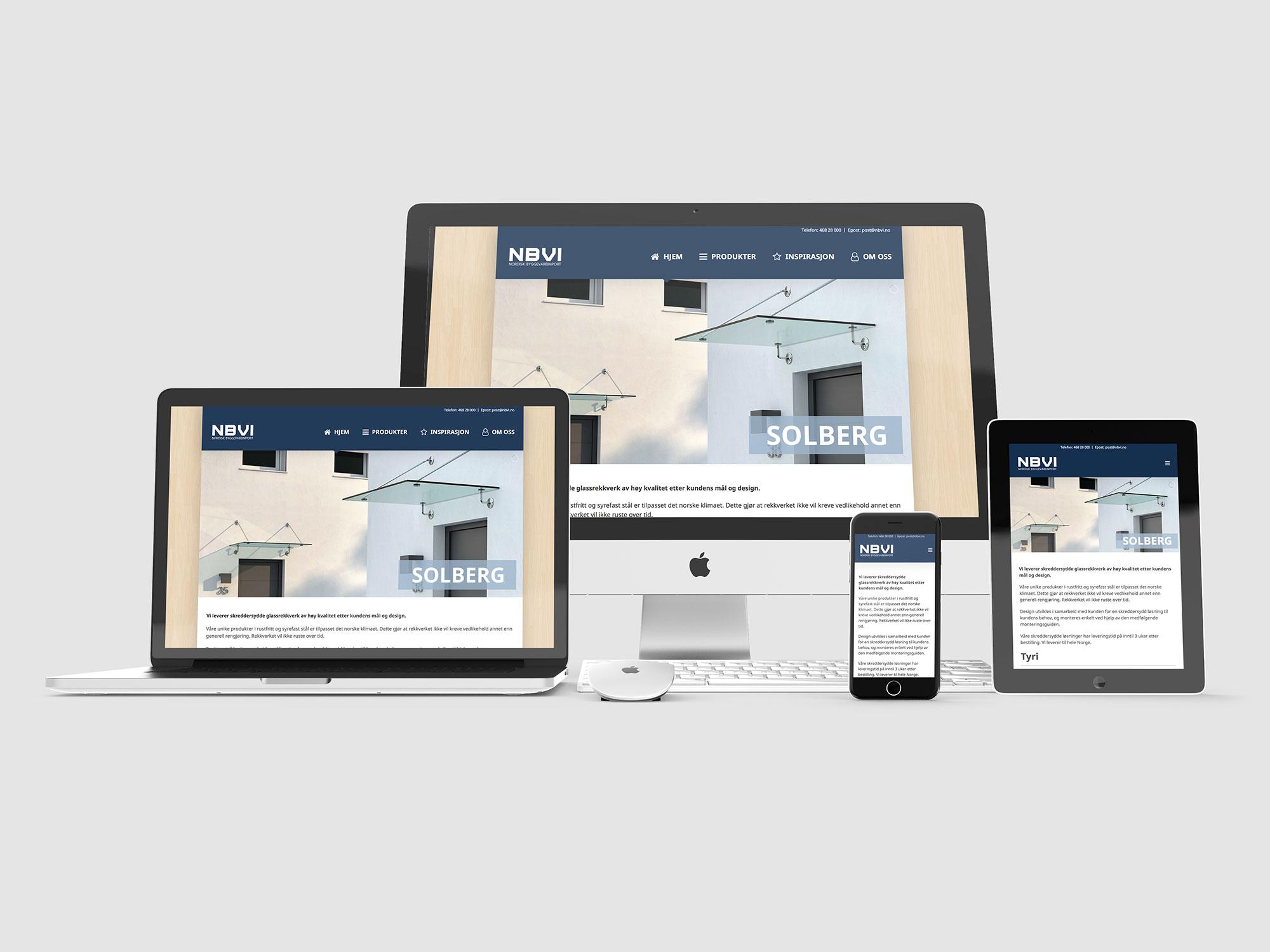 Branding NBVI Nettside
