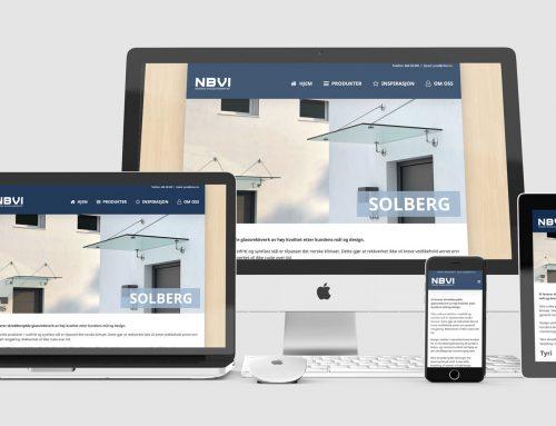NBVI – Responsiv nettside