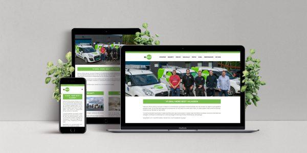 Design av identitet og nettside for Elspot.
