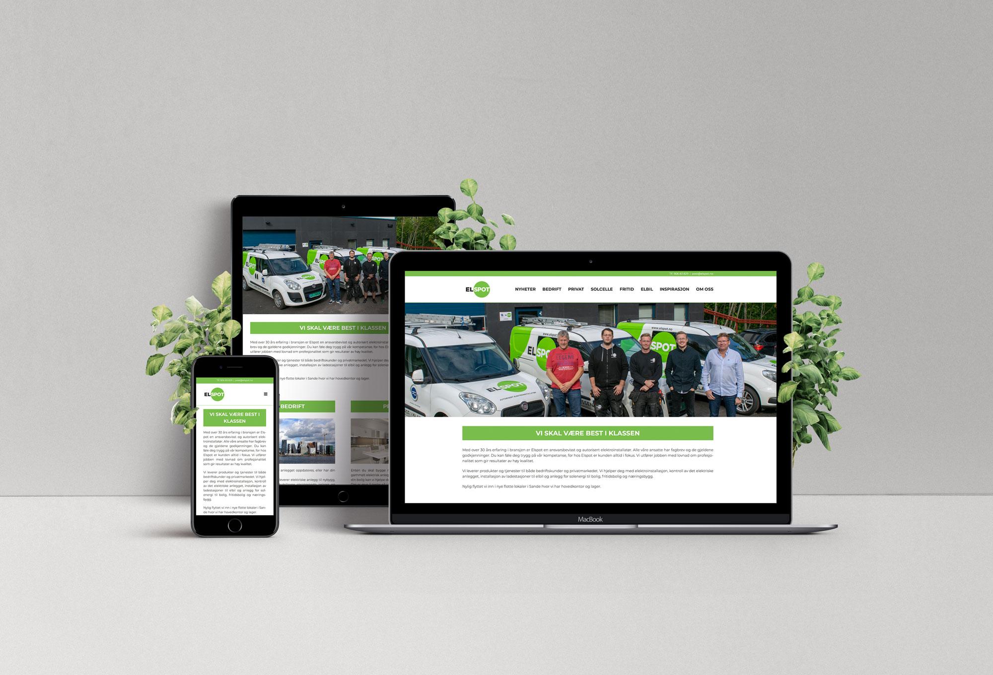Ny nettside for Elspot