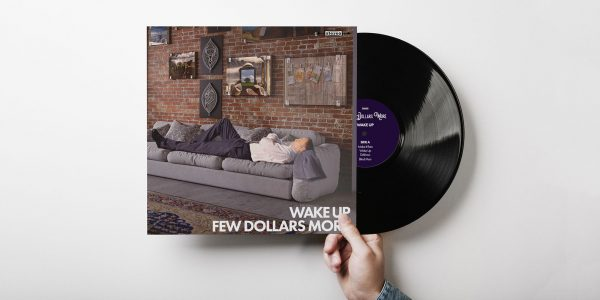 Design av album cover for bandet Few Dollars More sitt album Wake Up
