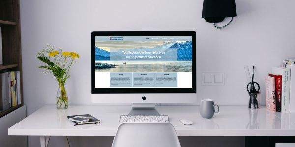 Design og utvikling av ny nettside for Plastmaskiner.