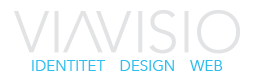 VIAVISIO – Designbyrå i Drammen Logo