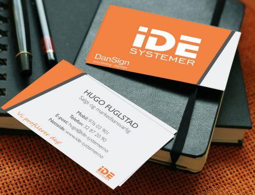 IDE Systemer – Visittkort