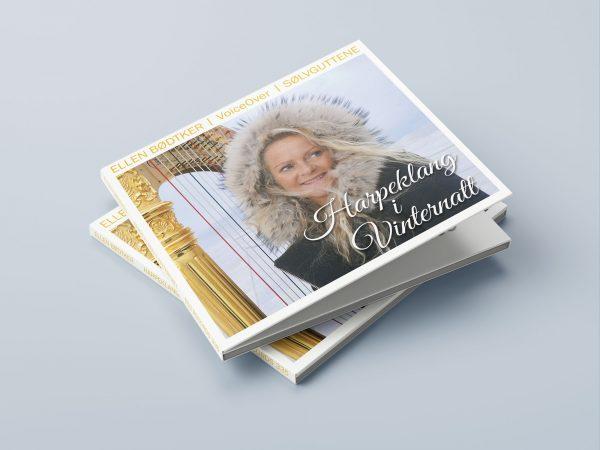 """Ellen Bødtker """"Harpeklang i Vinternatt"""". Design av VIAVISIO"""
