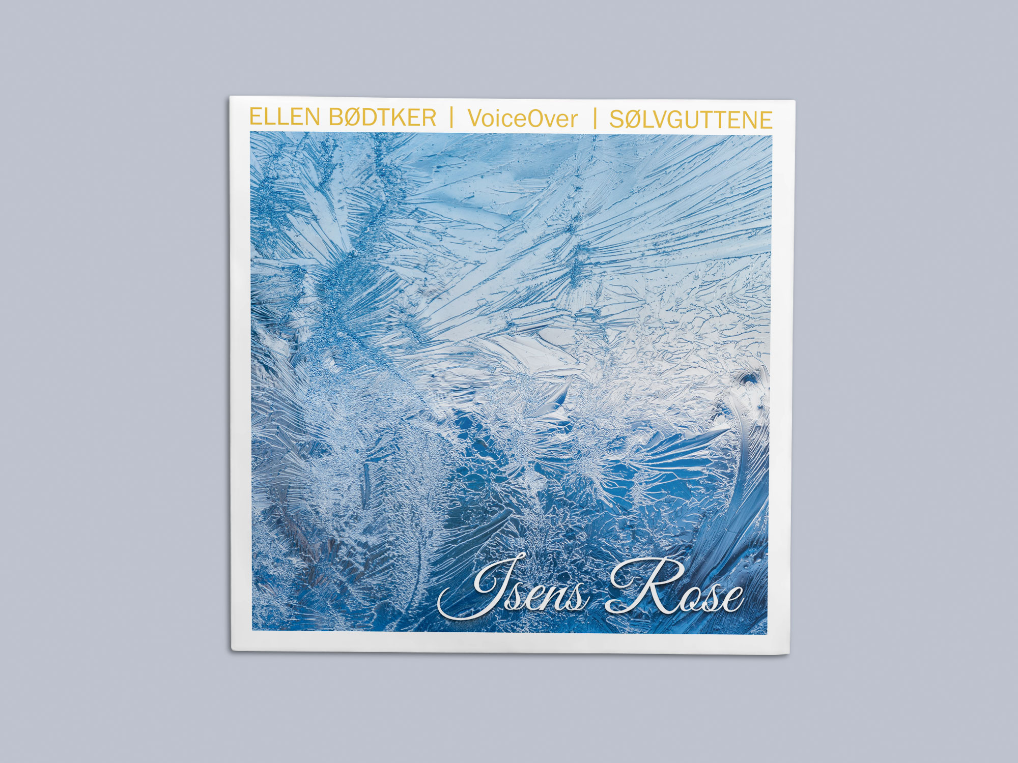 "Ellen Bødtker ""Isens Rose"" Cover Art"