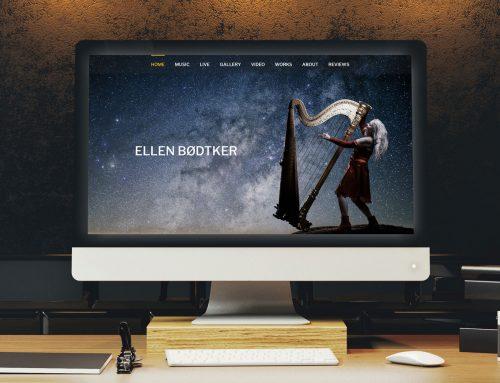 Ellen Bødtker – Nettside