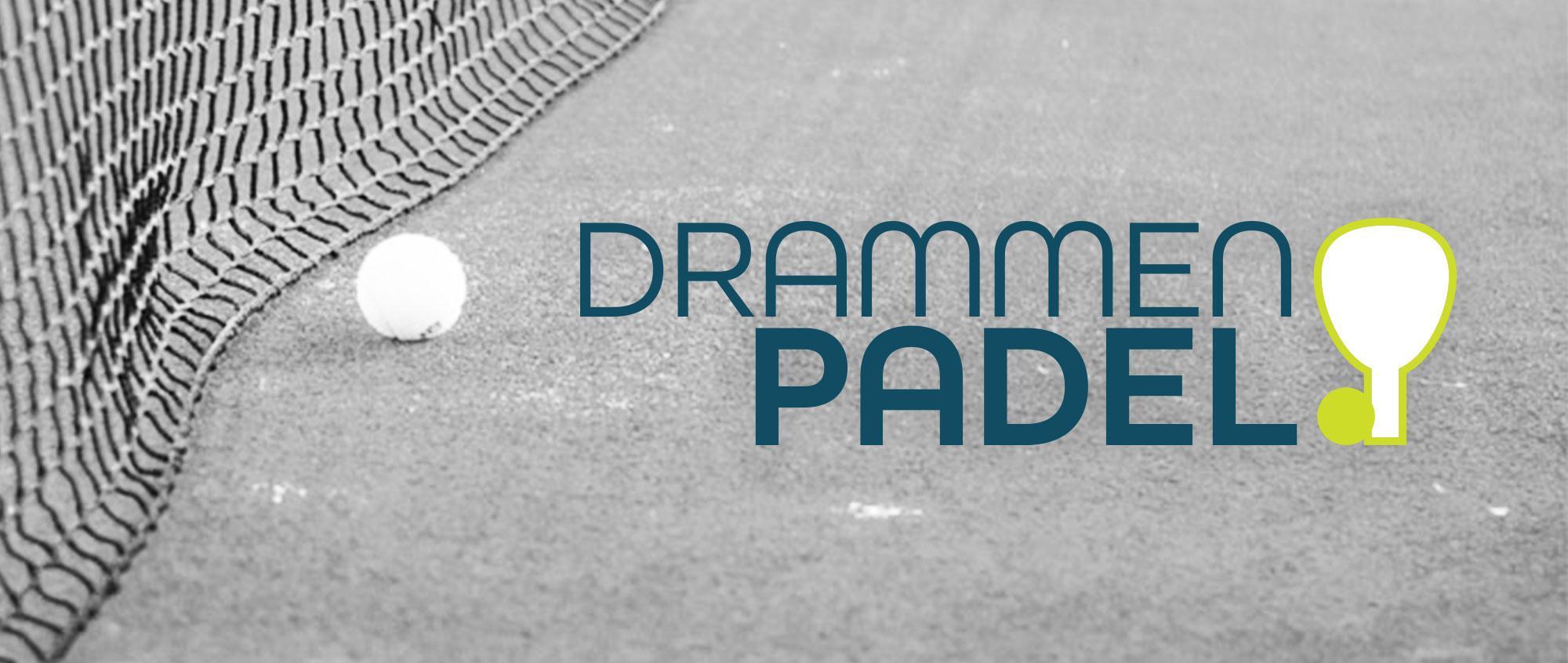 Logo Drammen Padel