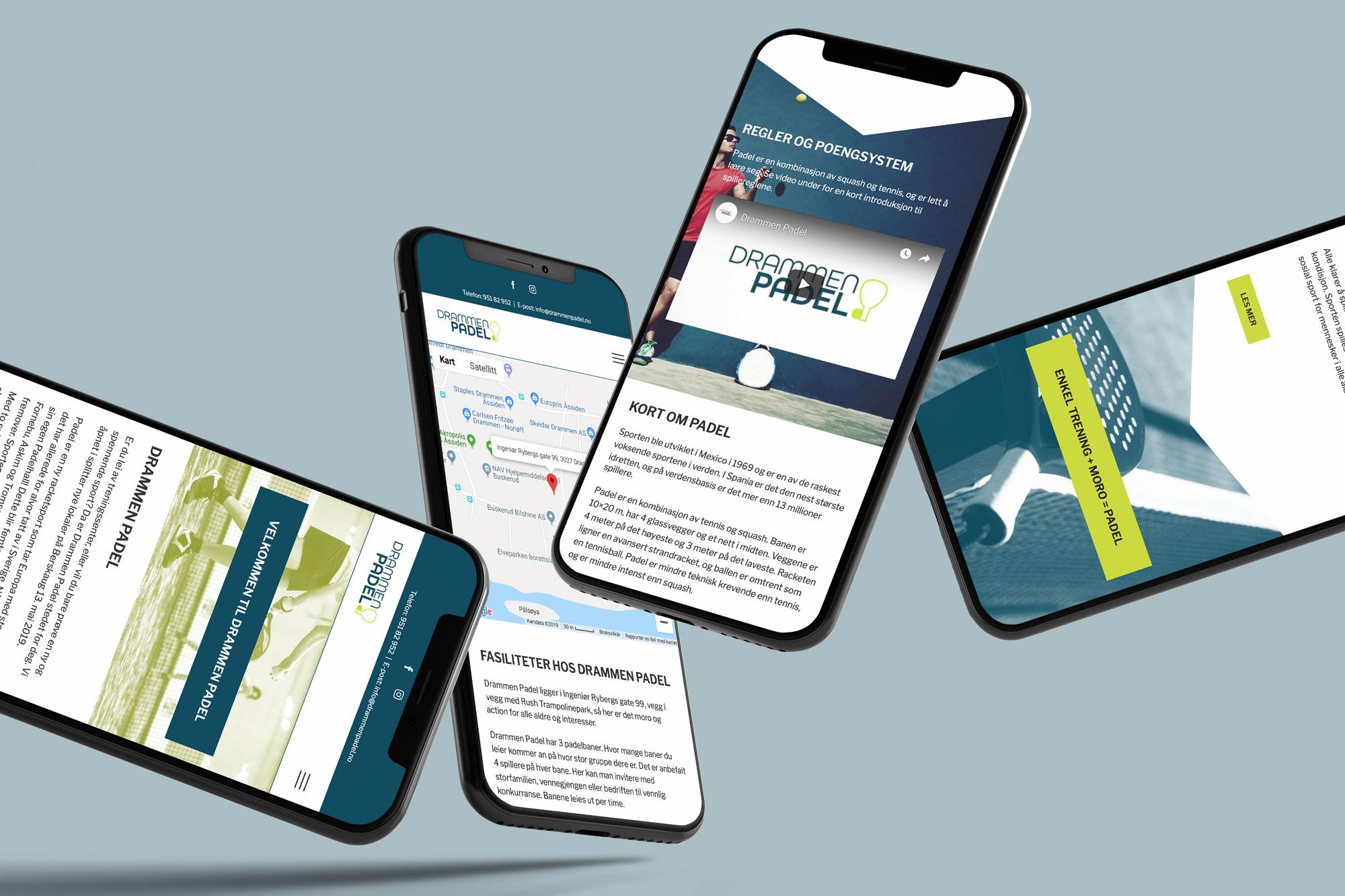 Responsive nettsider fungerer optimalt på mobil